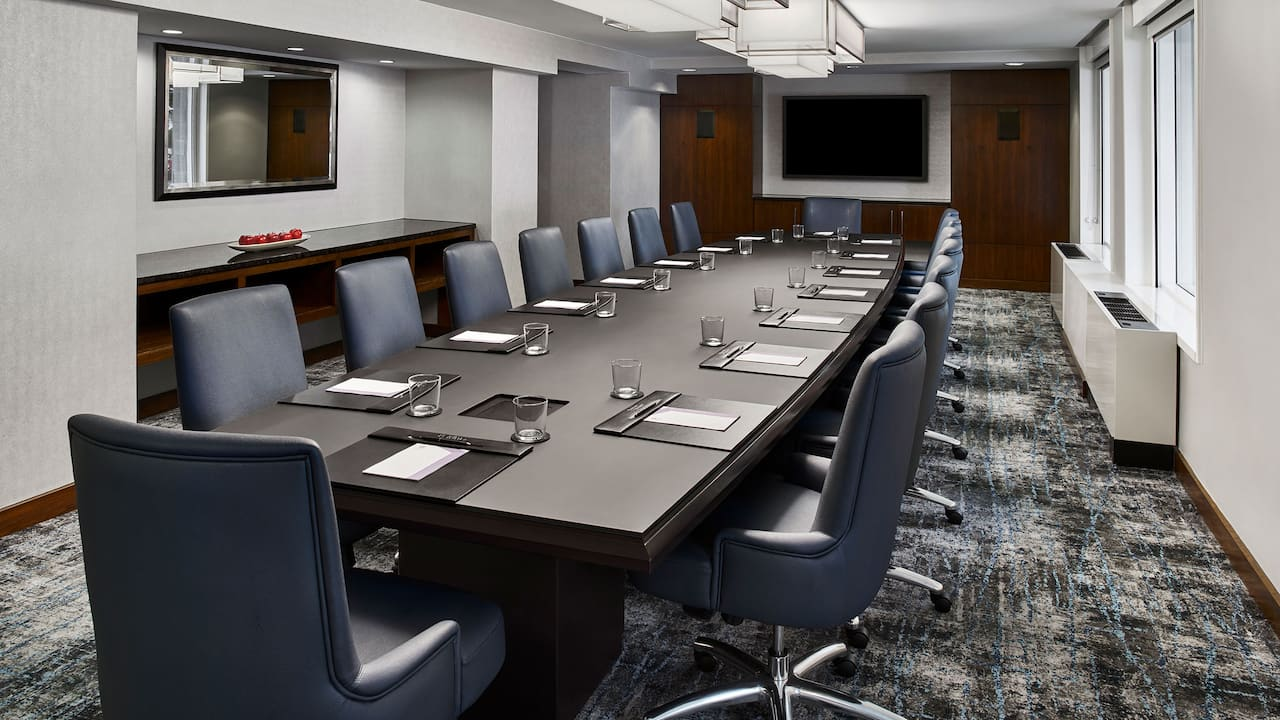 Hyatt Regency Washington on Capitol Hill Olympic meeting room
