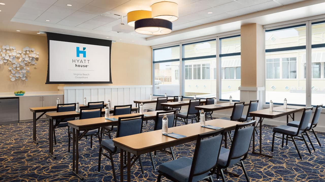 Meeting Room 1 Hyatt House Virginia Beach / Oceanfront