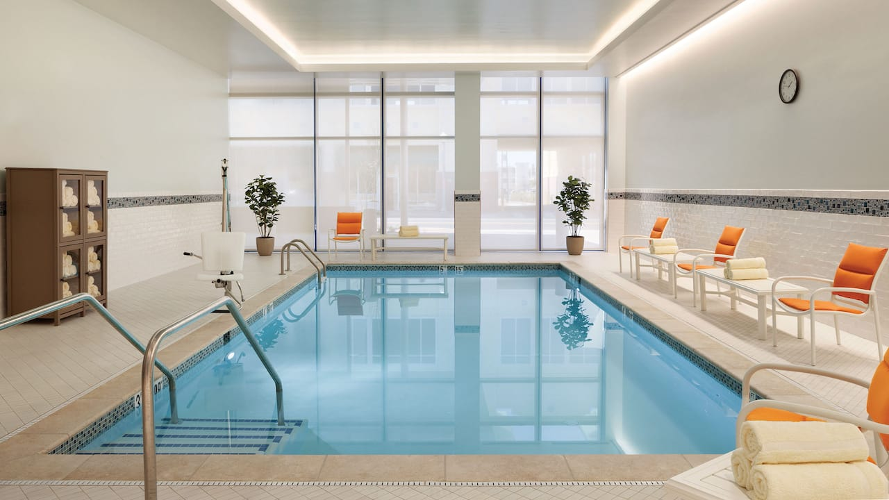 Indoor Pool Hyatt House Virginia Beach / Oceanfront