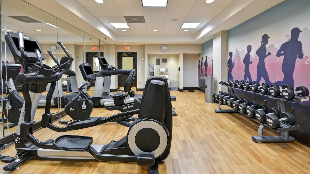 Hyatt Place Kansas City / Overland Park / Metcalf 24/7 Fitness Center