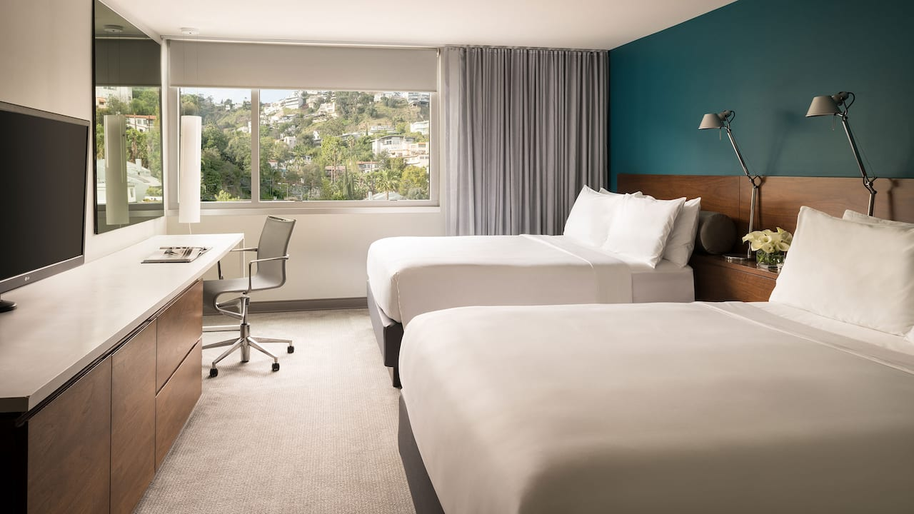 ANDAZ WEST HOLLYWOOD (ANDAZ) | ADA 2 Queen Beds