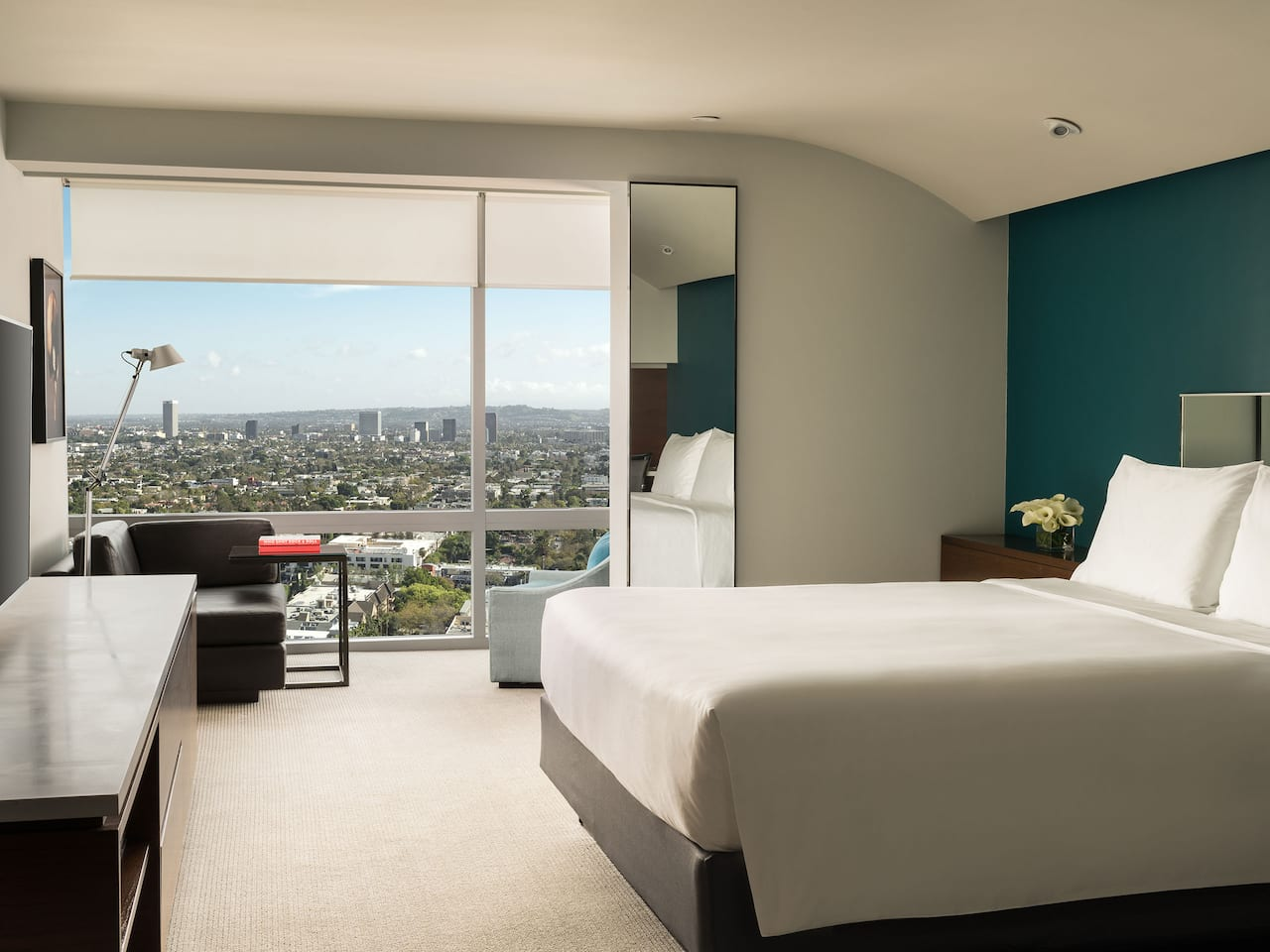Hollywood Hotel Room with view of Sunset Strip