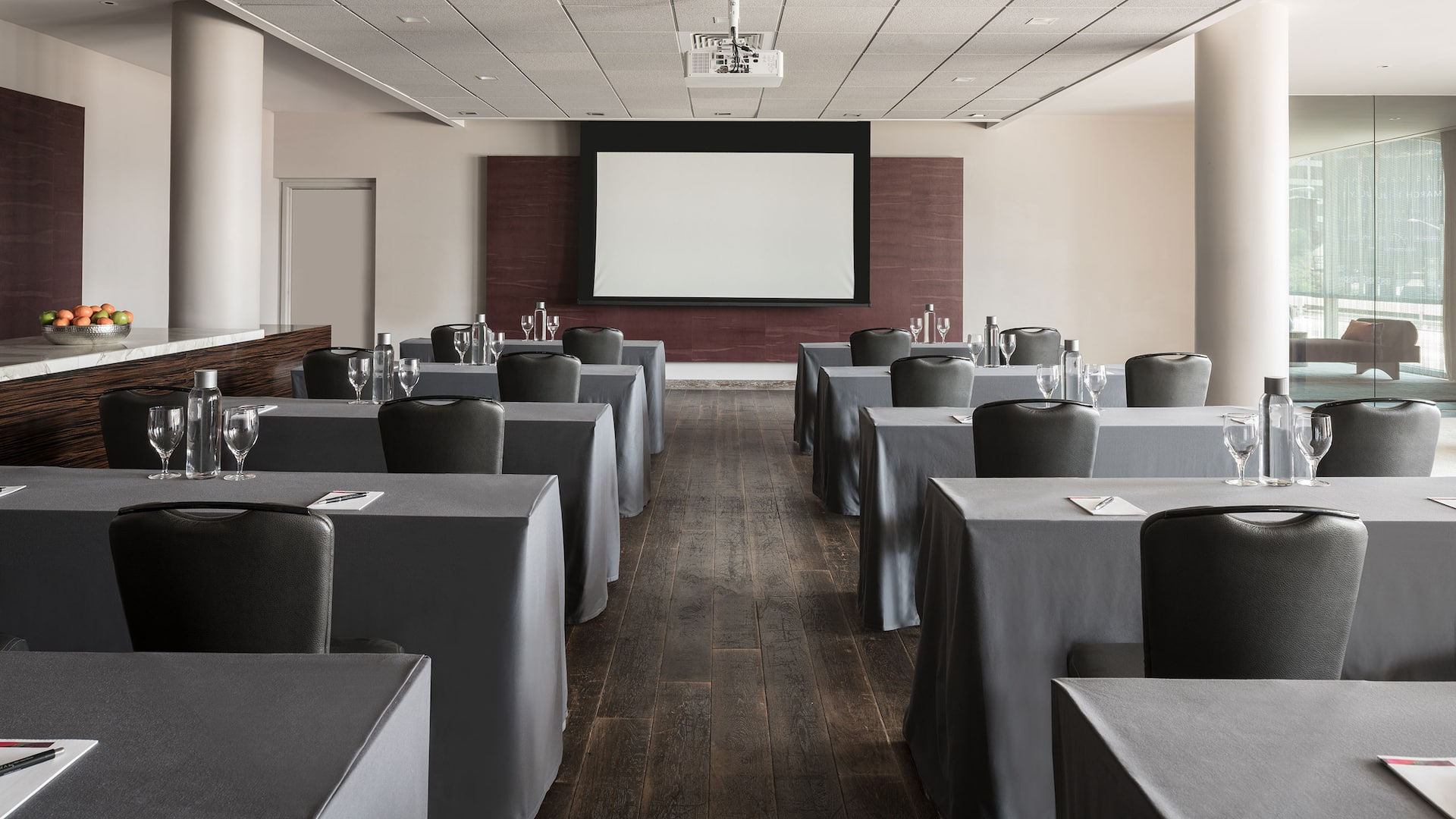 Meeting Space with Projector Andaz West Hollywood