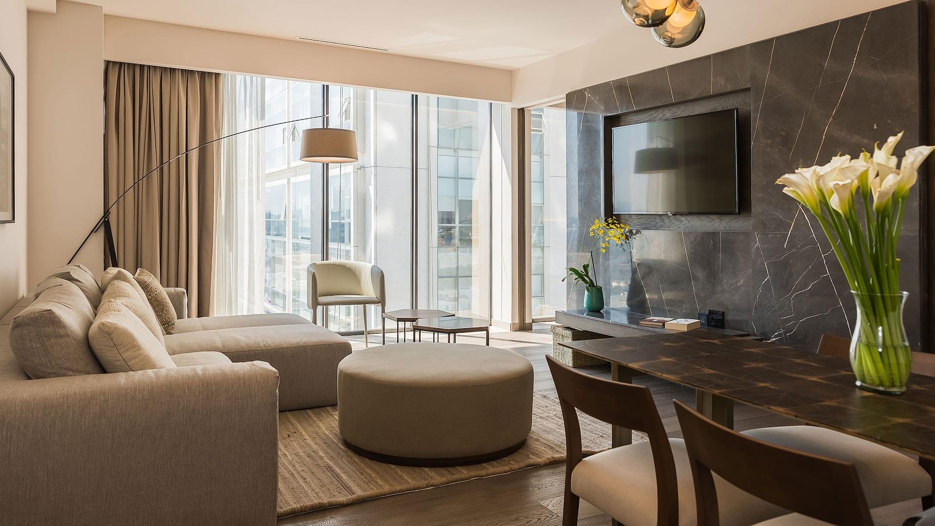 Regency Executive living room