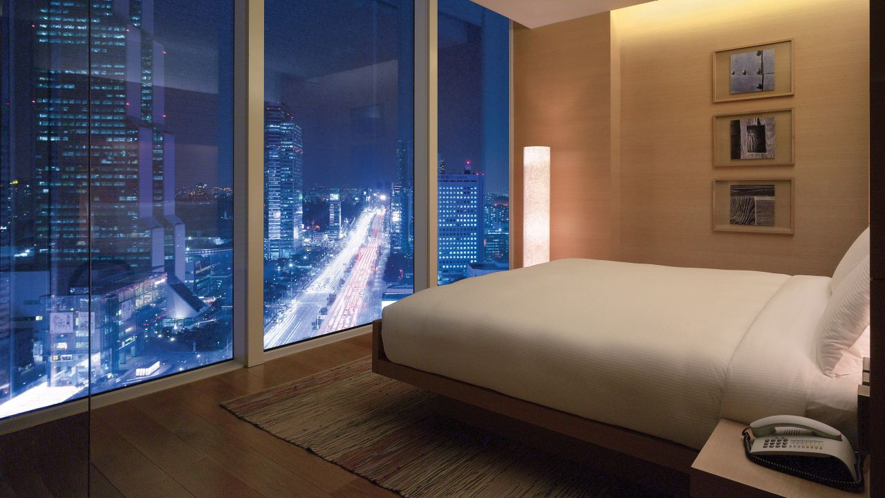 Park Hyatt Suite Bedroom Night