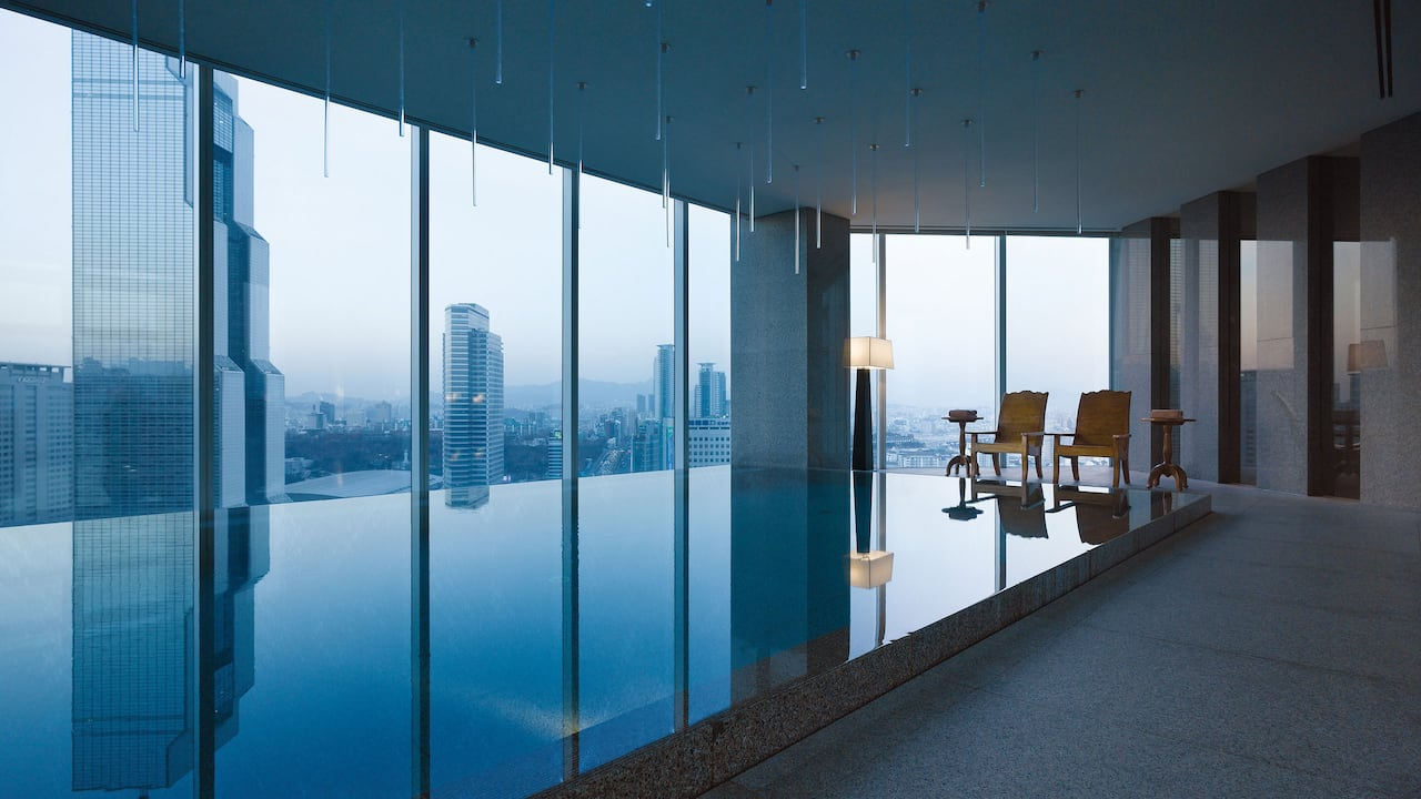 Park Hyatt Seoul Park Club Infinity Swimming Pool
