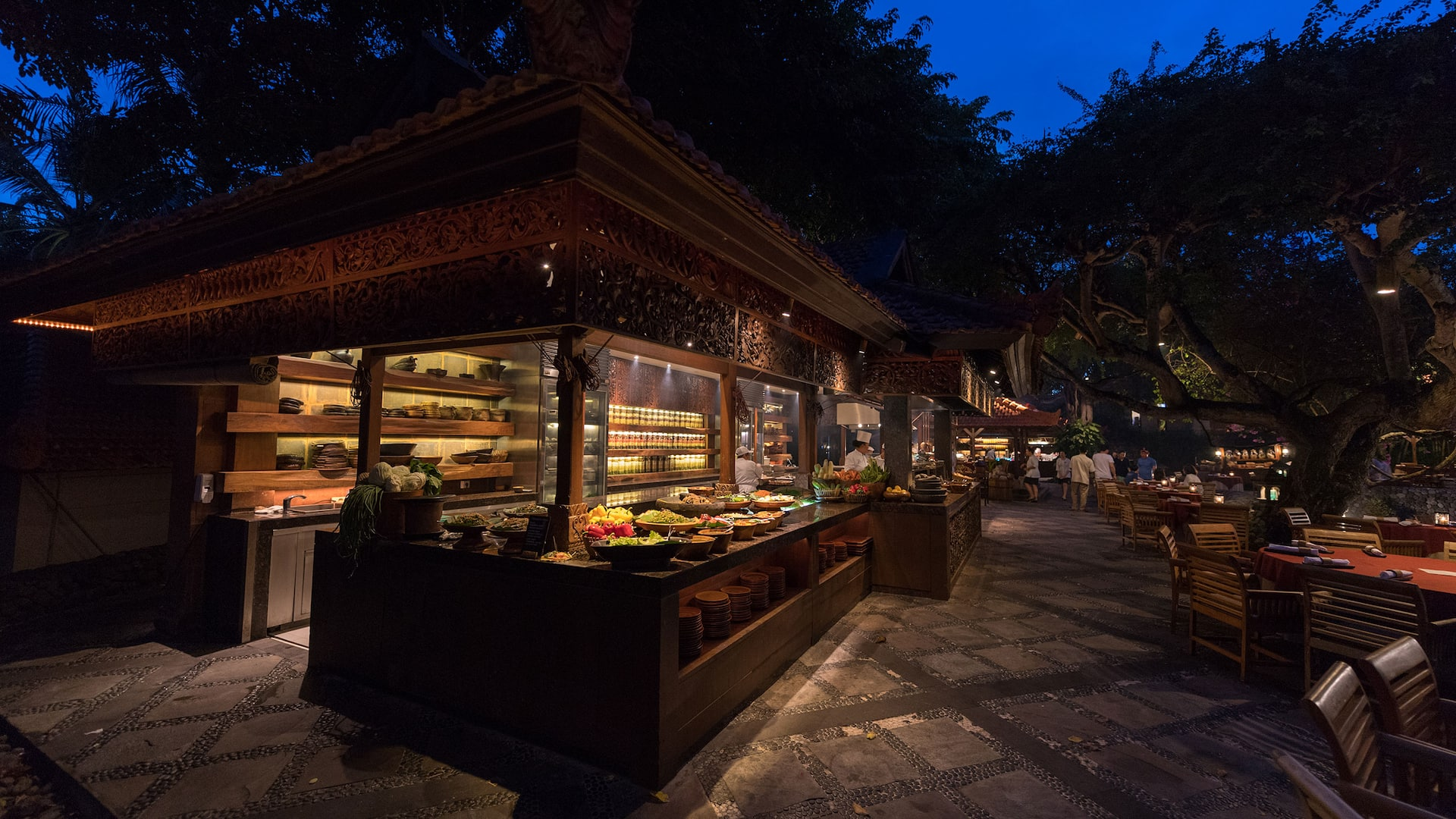 Pasar Senggol Buffet Restaurant Nusa Dua Bali - Grand Hyatt Bali