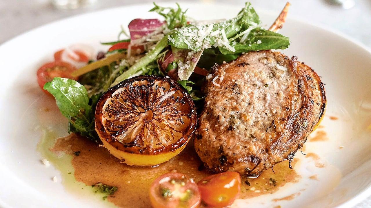 Salsa Verde Italian Restaurant Menu (Lamb Chop) - Grand Hyatt Bali