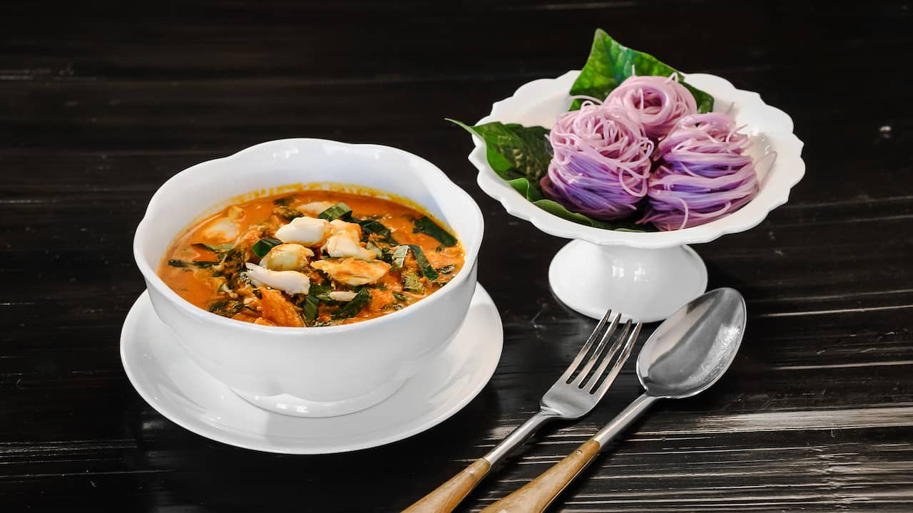 Erawan Tea Room Red Curry
