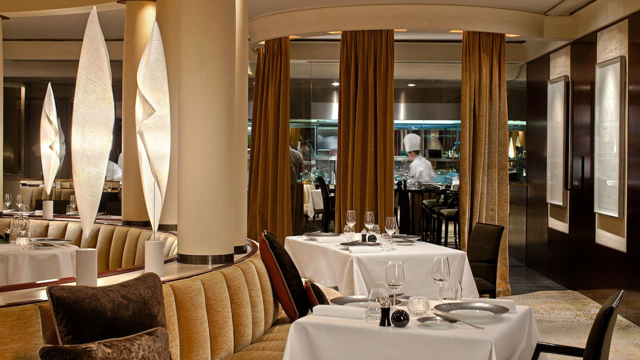 Le Pur' restaurant at Park Hyatt Paris-Vendôme