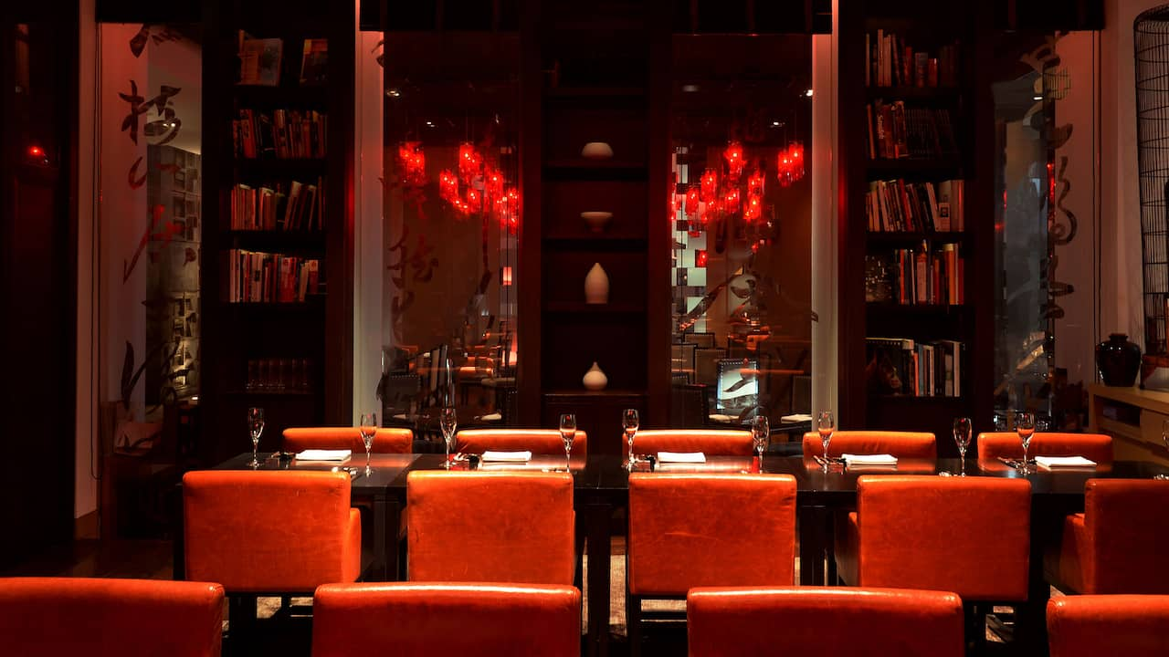 Chinaroom, Chinese Restaurant, Library room