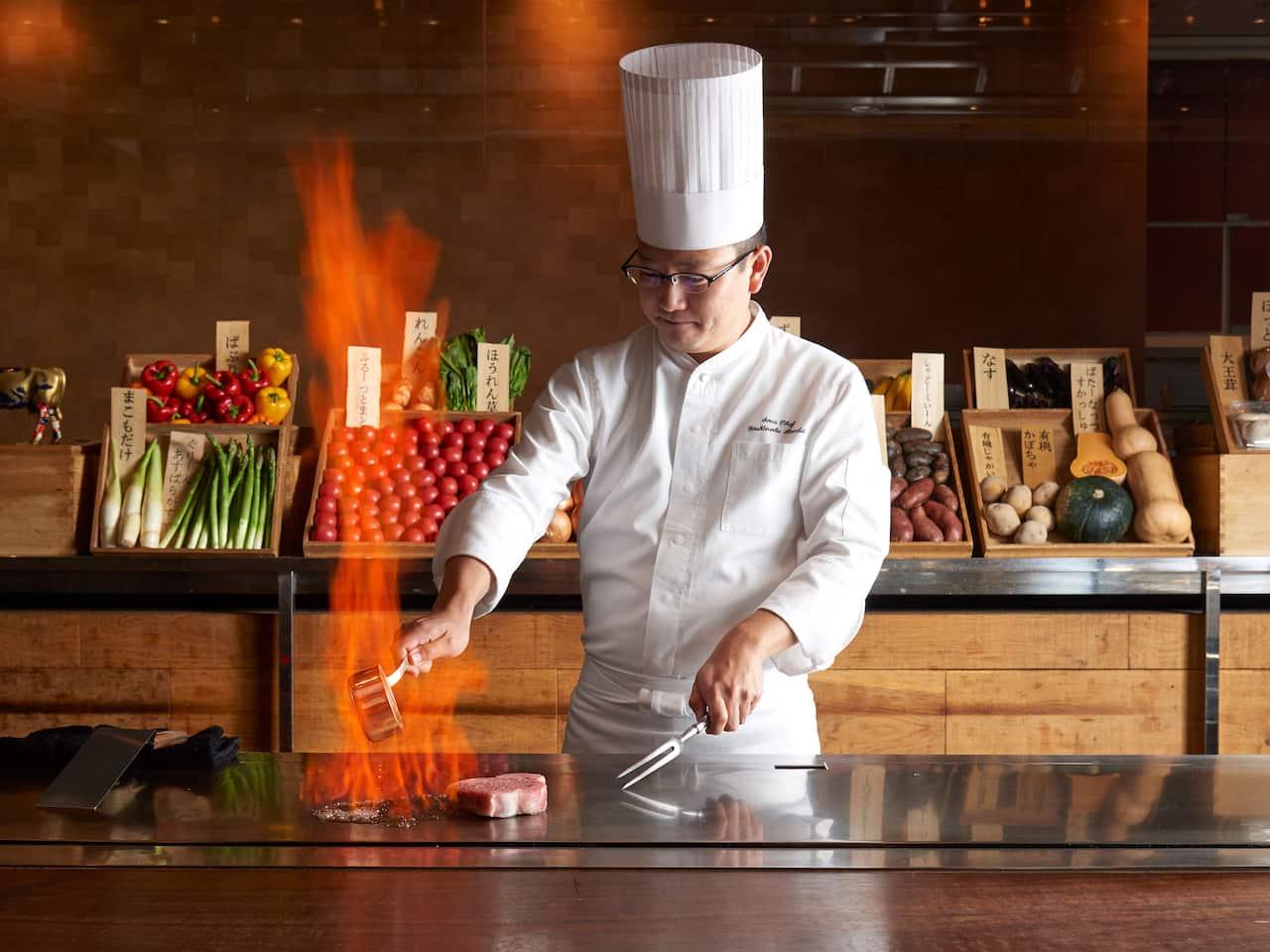 Keyakizaka, Teppanyaki restaurant