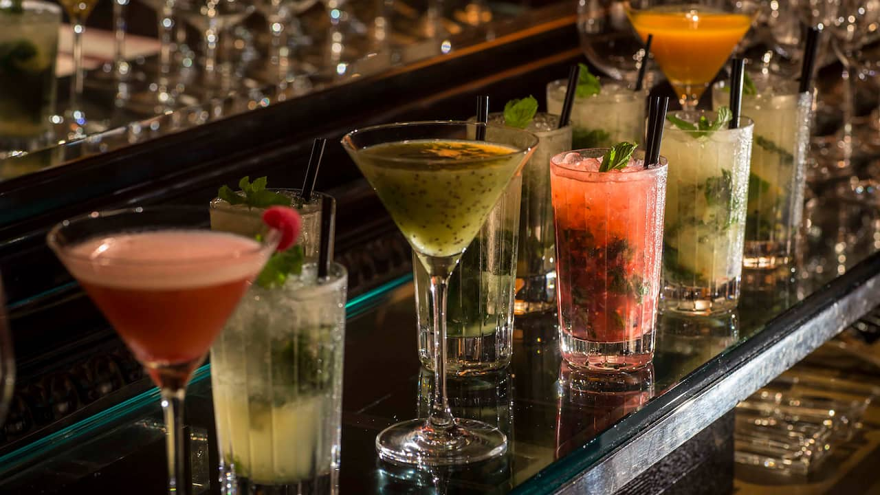Grand Hyatt Tokyo Jazz Lounge Maduro Cocktails グランド ハイアット 東京 ジャズ ラウンジ マデュロ カクテル