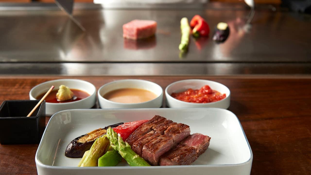 Grand Hyatt Tokyo Keyakizaka Dish グランド ハイアット 東京 鉄板焼 けやき坂 お料理