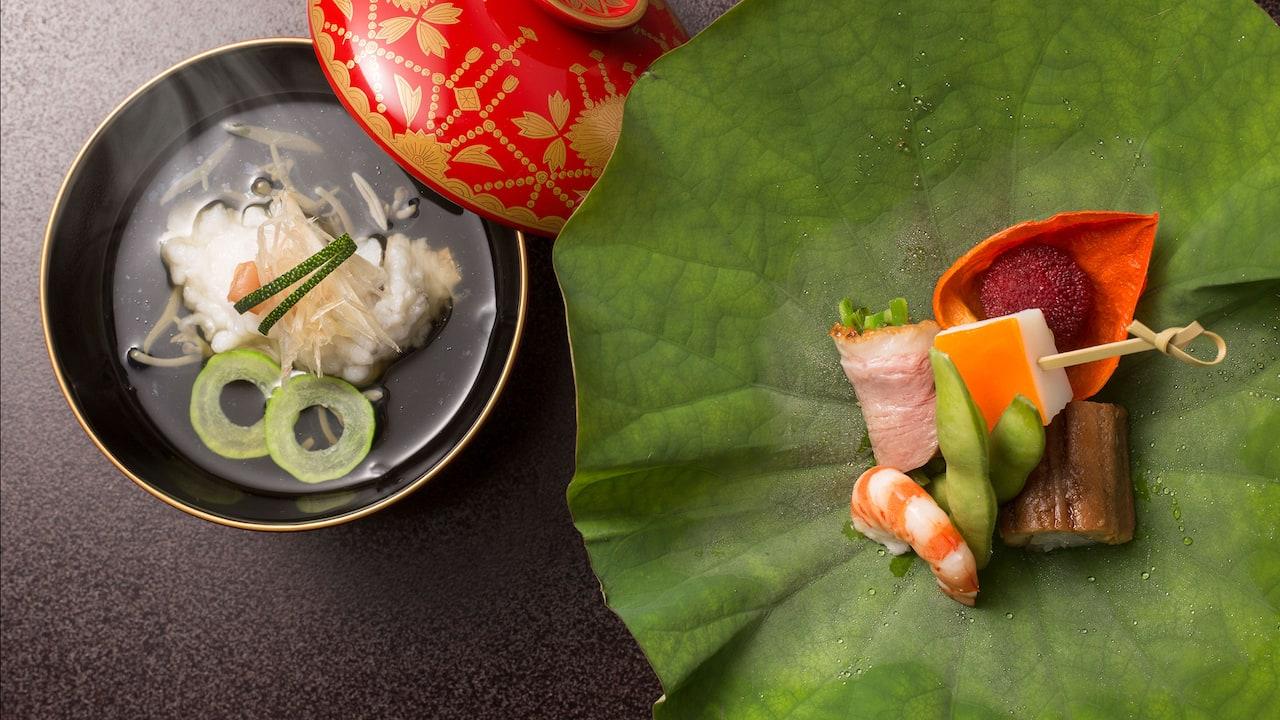 Grand Hyatt Tokyo Japanese Restaurant Shunbou Dinner グランド ハイアット 東京 日本料理 旬房 ディナー