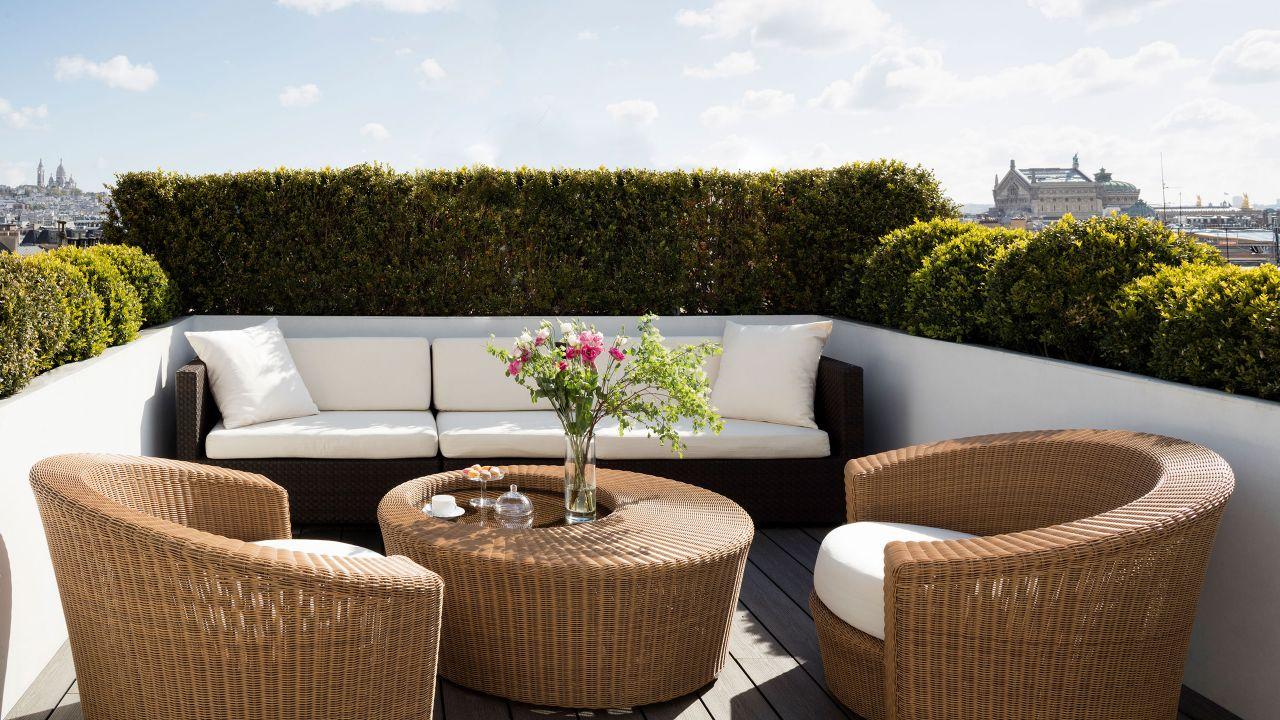 Terrasse - Suite Présidentielle à l'Hôtel Hyatt Paris Madeleine