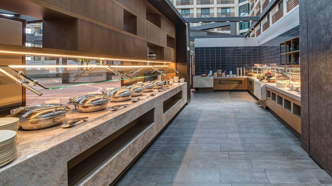 360 Bistro Breakfast Buffet Area
