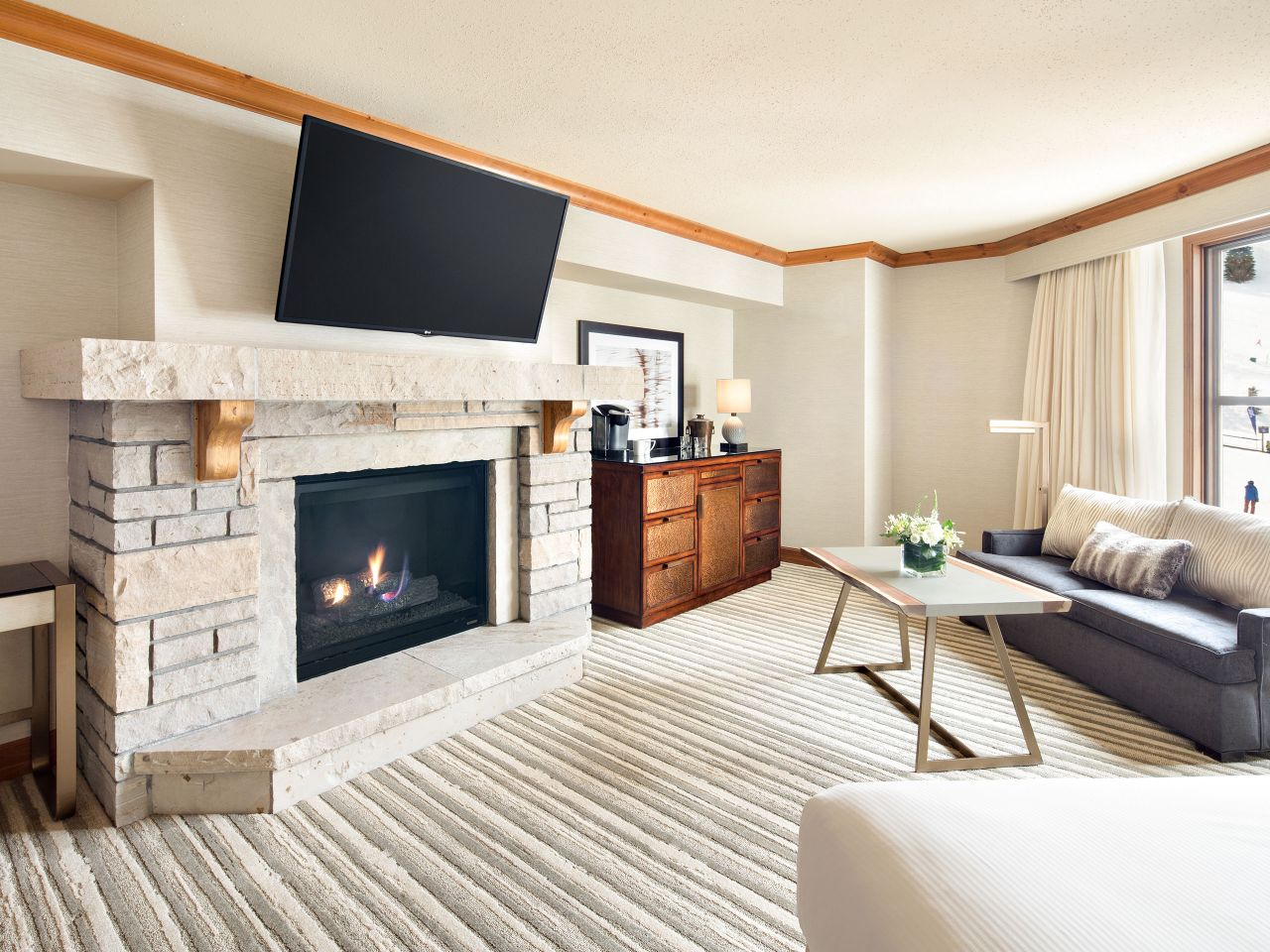 Park Hyatt Beaver Creek Fireside Suite
