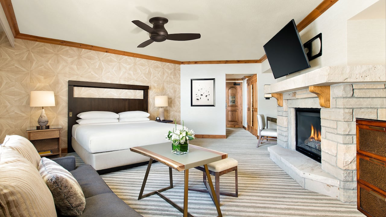 Park Hyatt Beaver Creek Alpine King Bedroom