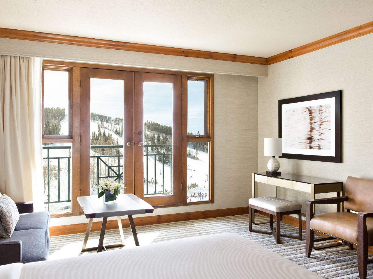Park Hyatt Beaver Creek Slopeside View Room