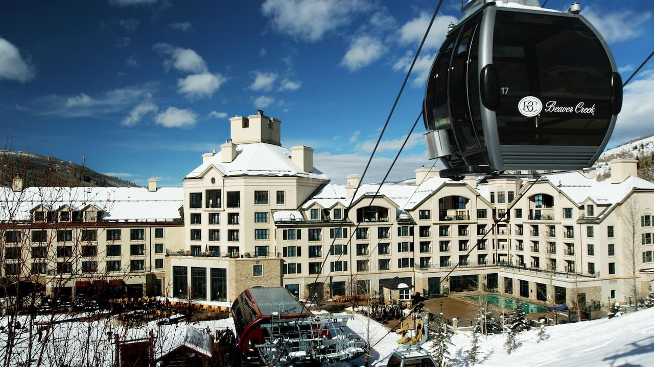Park Hyatt Beaver Creek Hotel with Ski Lift
