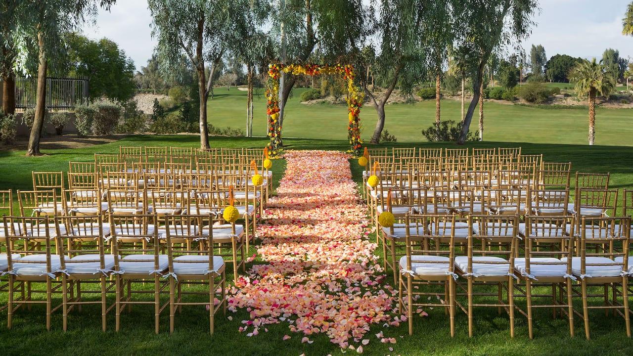 Wildflower Lawn Ceremony
