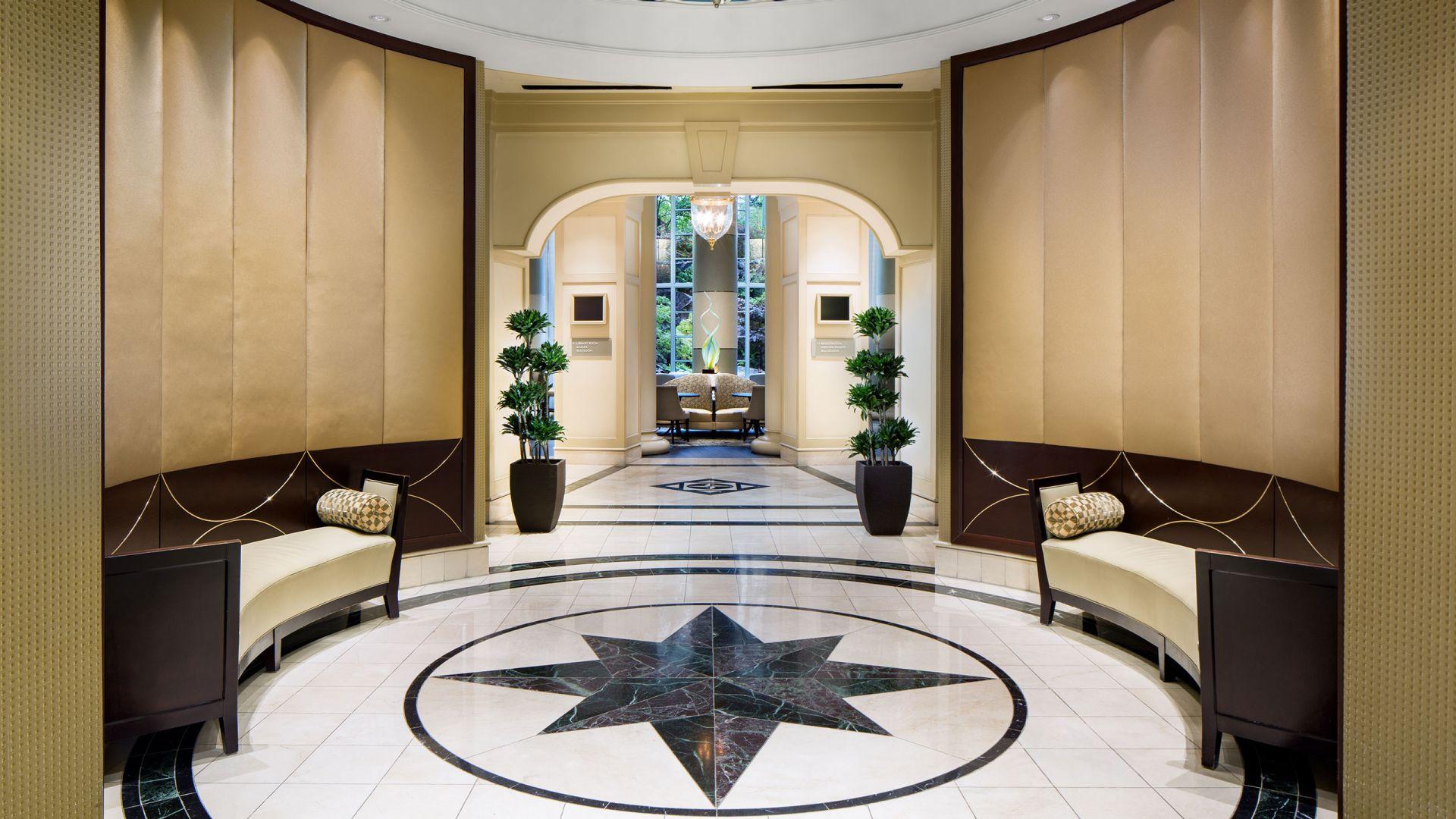 Grand hyat lobby entrance