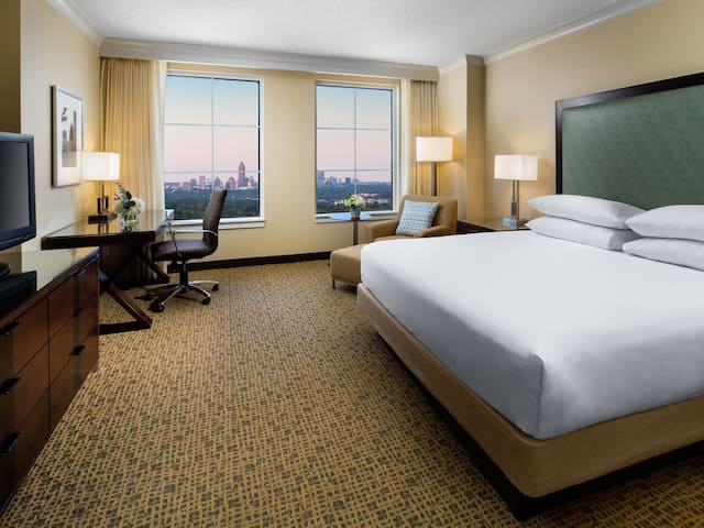 Room with King bed and a view Grand Hyatt Atlanta