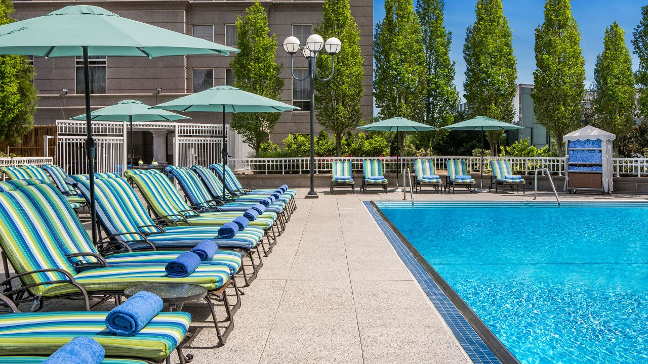 Buckhead outdoor pool Grand Hyatt Atlanta