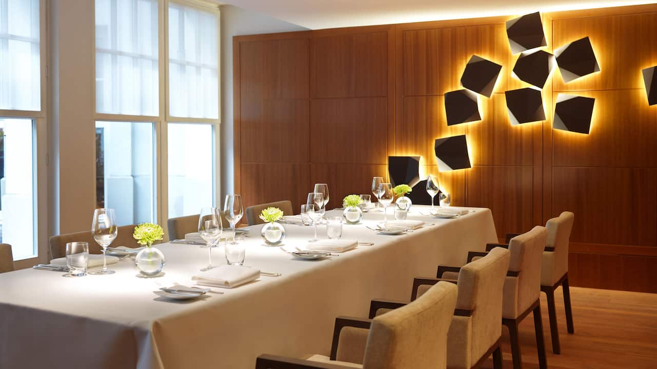 Private Dining Room window