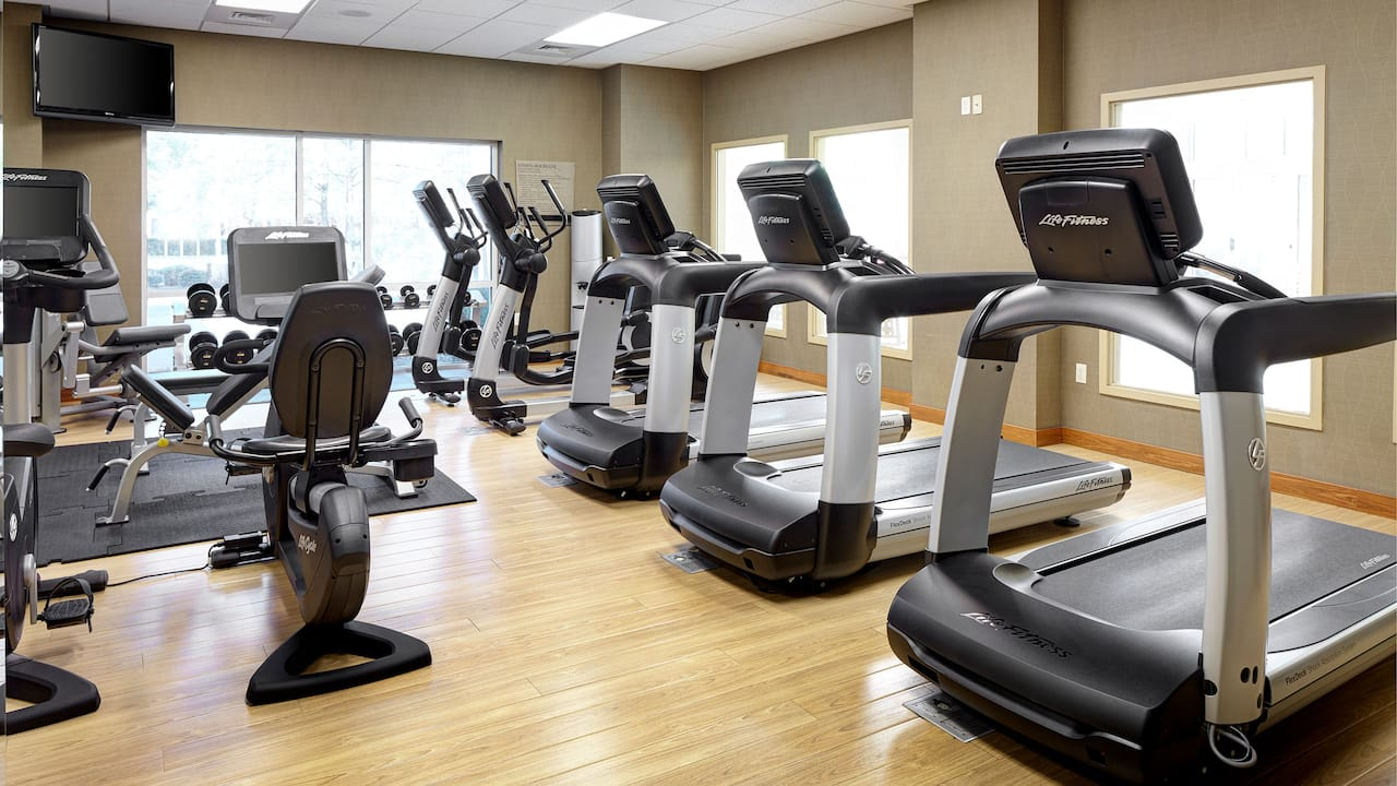 Hyatt House Hotel Seattle/Bellevue 24/7 Fitness Center