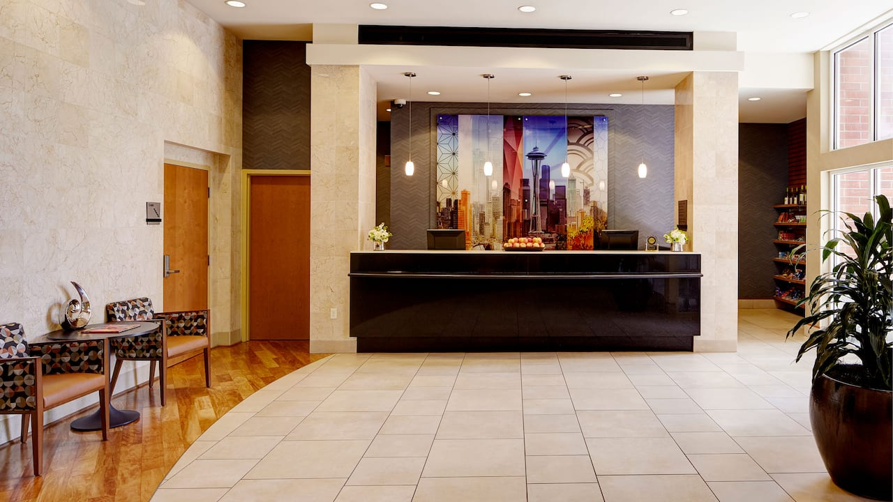 Bellevue, WA Hotel Front Desk – Hyatt House Seattle/Bellevue