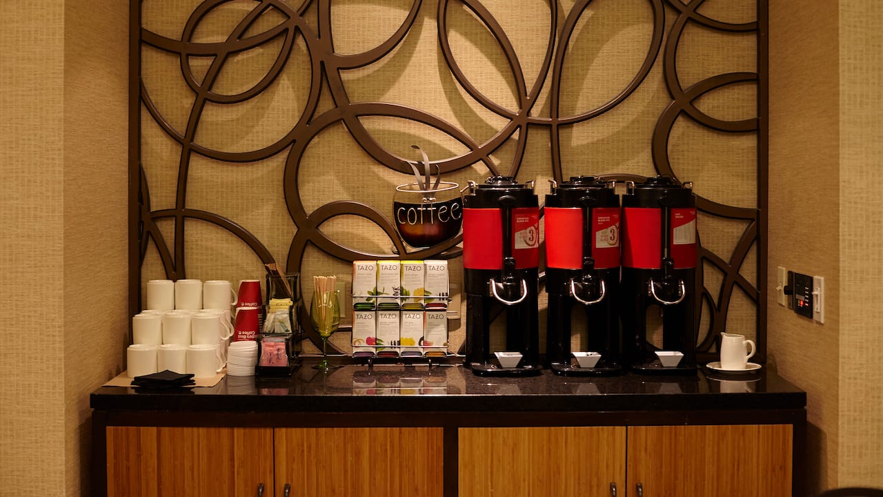 Meeting Room Coffee Perks - Hyatt House Seattle/Bellevue
