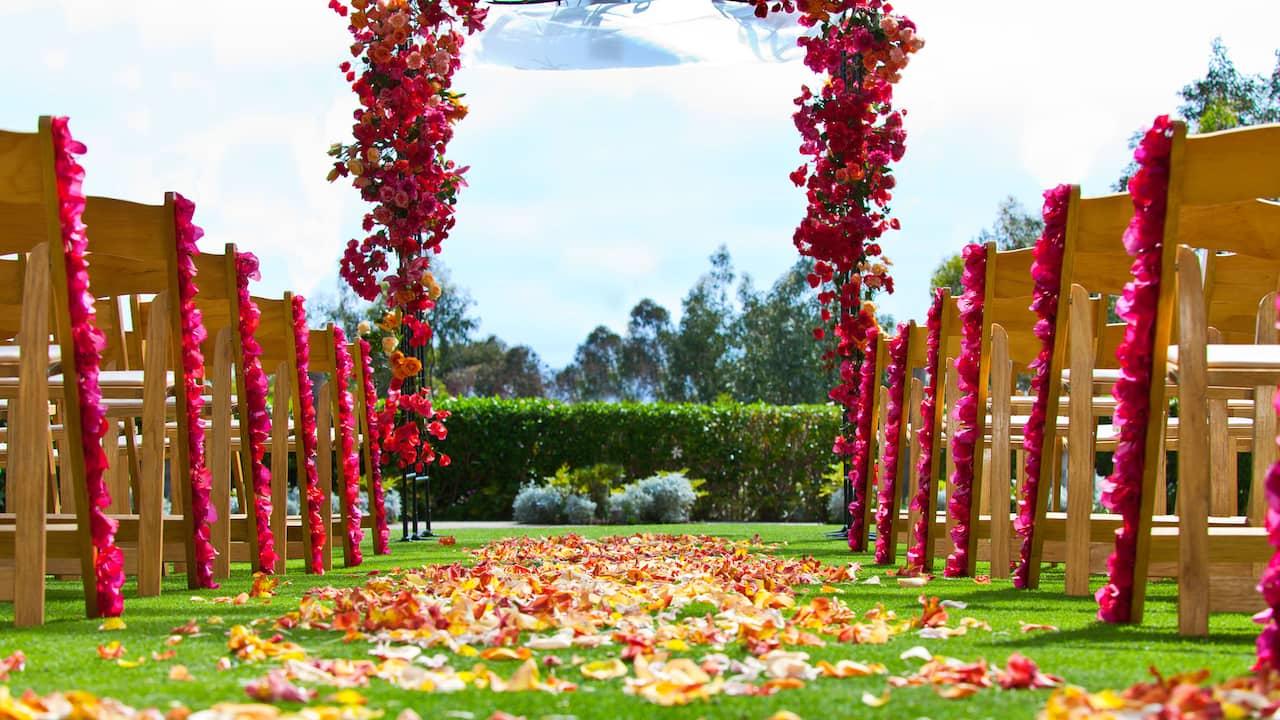Park Hyatt Aviara Resort Carlsbad Outdoor Wedding Venues
