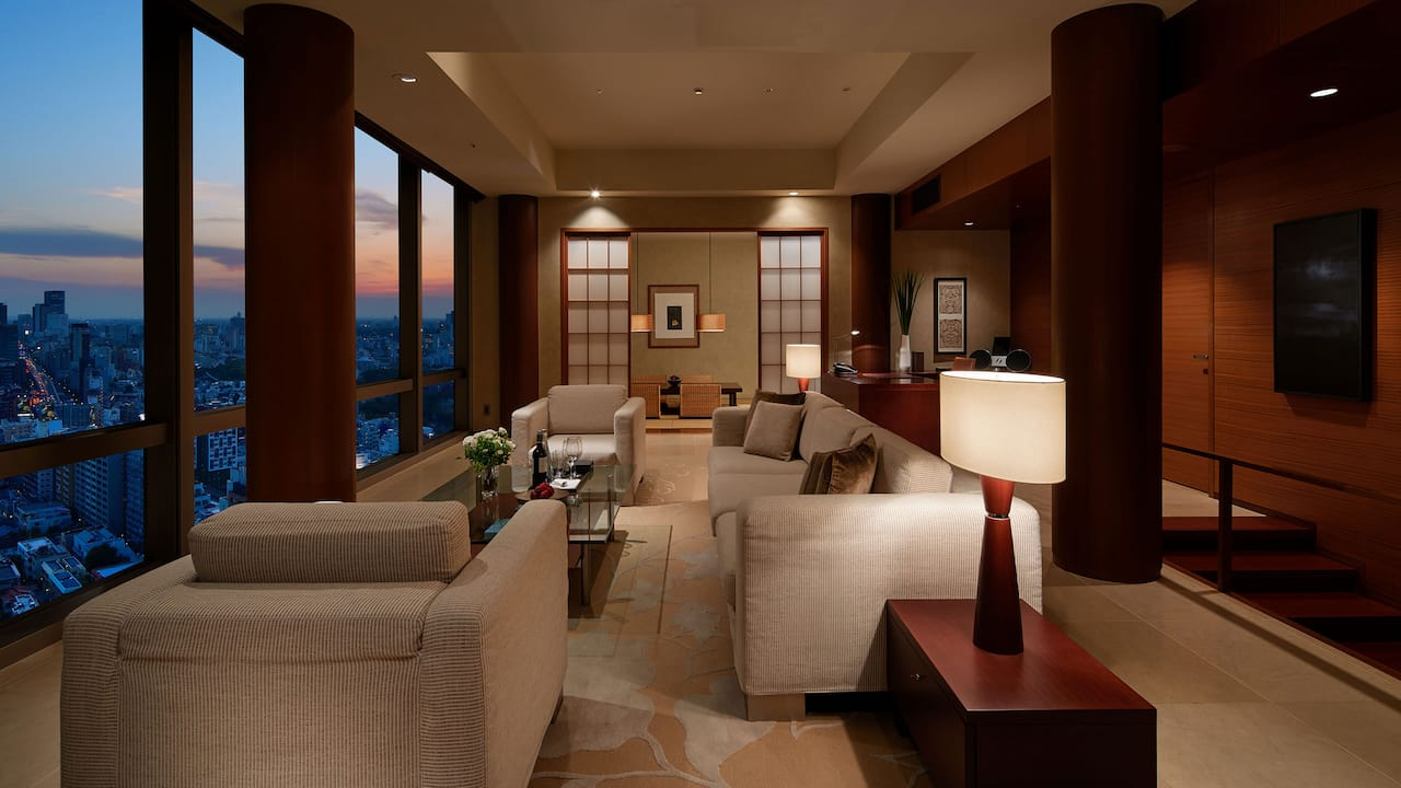 Ambassador Suite living room 1