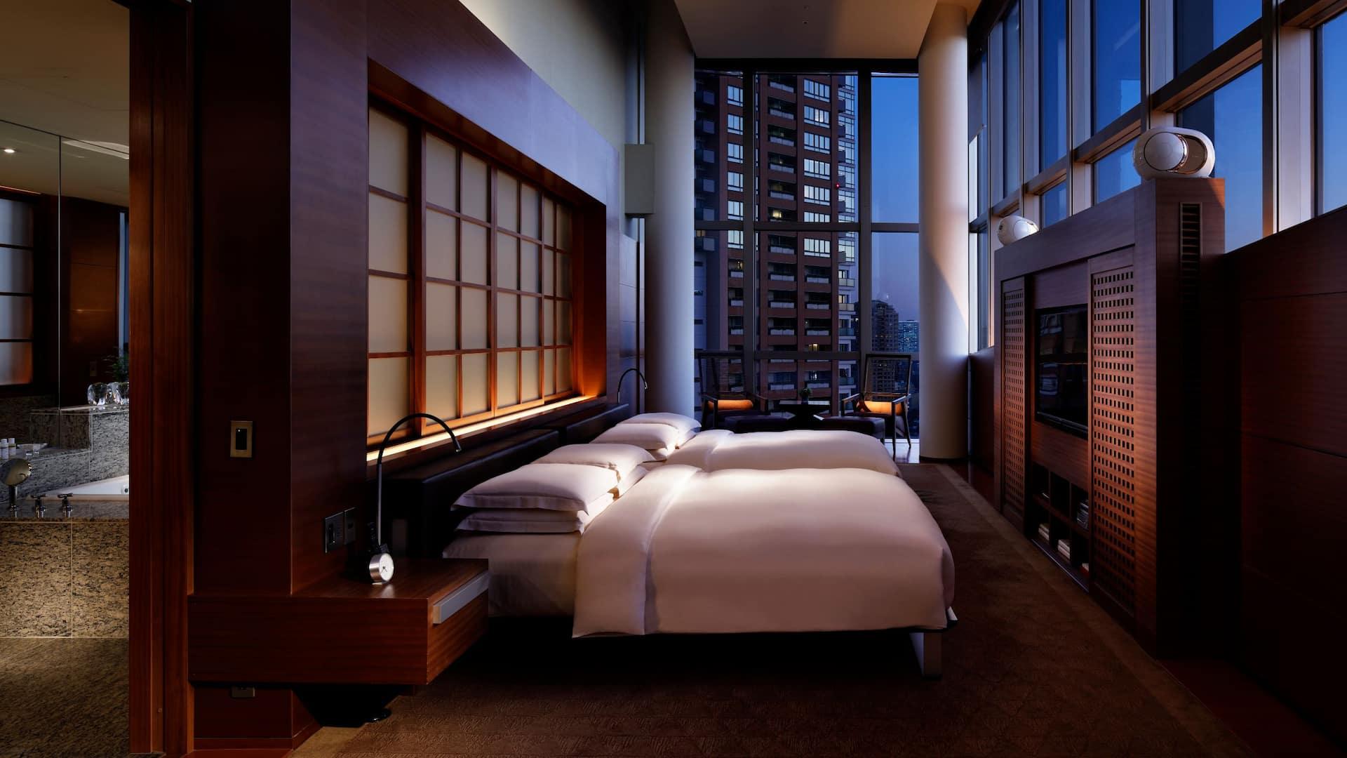プレジデンシャル スイート ベッドルーム1