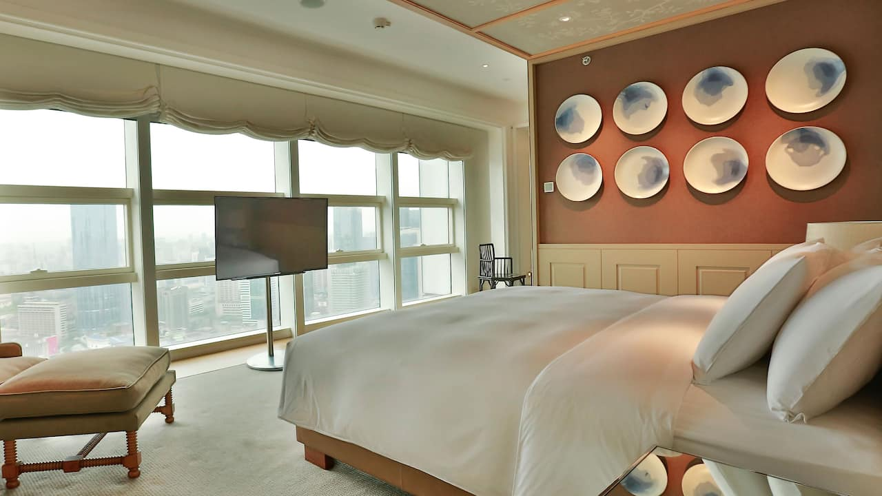 Grand Hyatt Chengdu Presidential Suite Bedroom