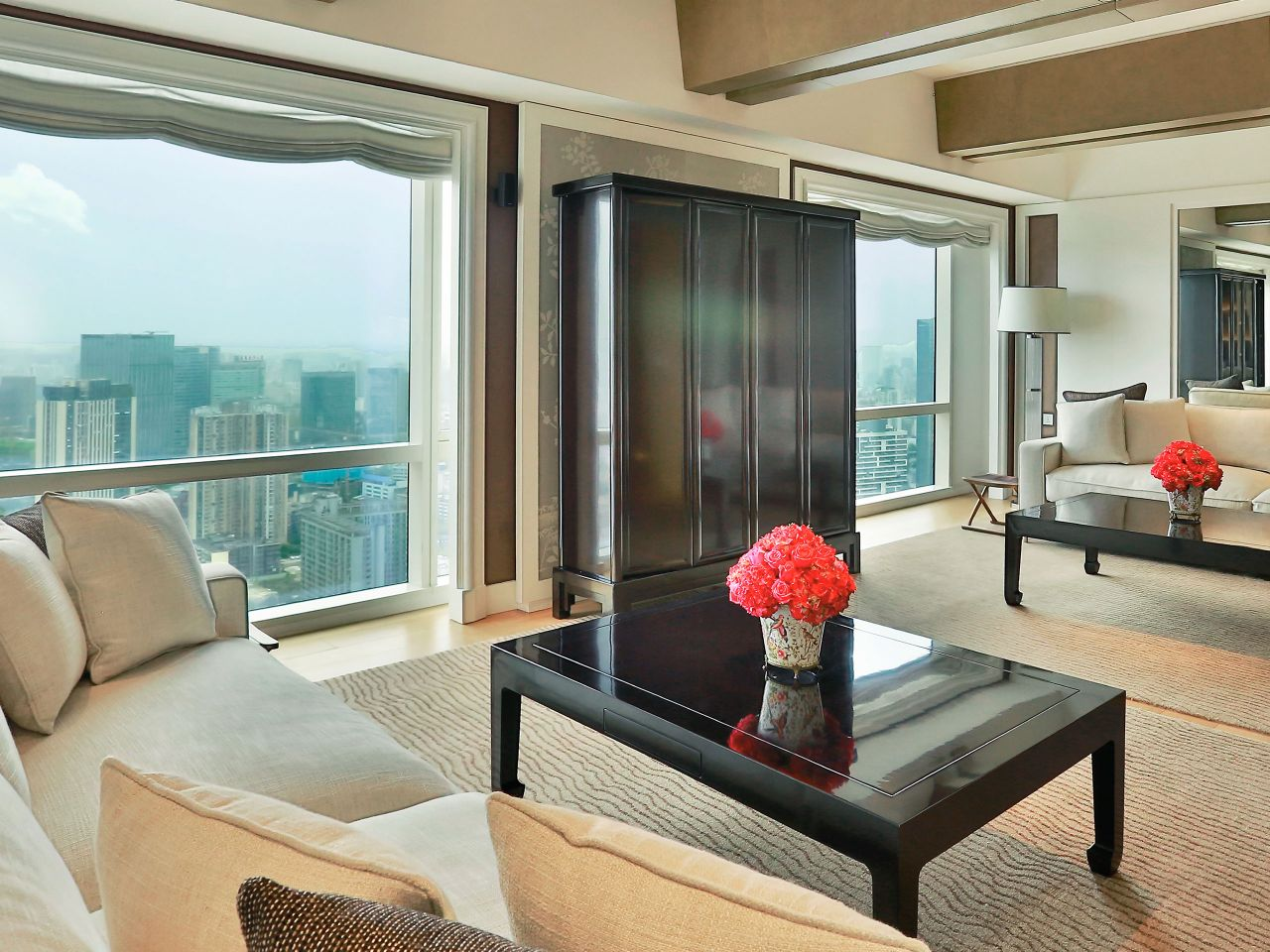 Grand Hyatt Chengdu Presidential Suite Drowing Room