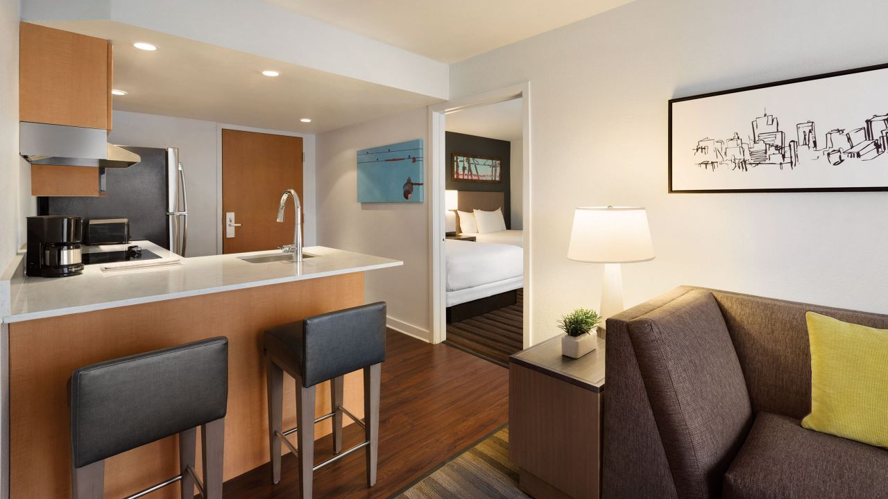 One Bedroom Double Suite