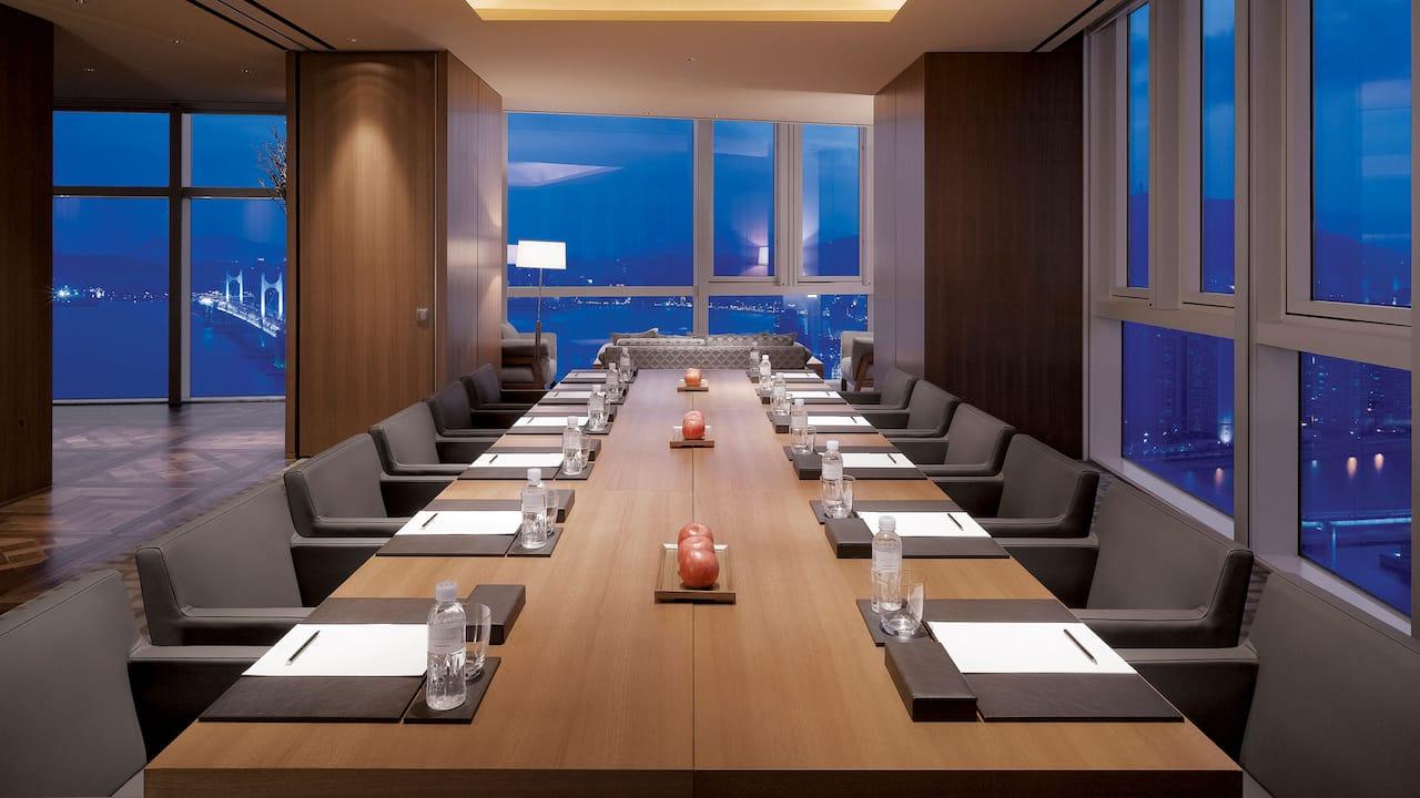부산호텔 연회장 드로잉룸