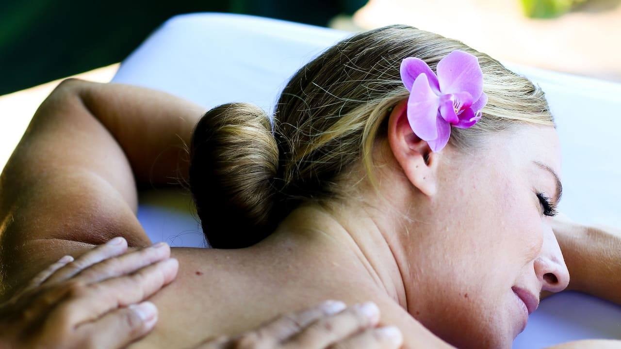Massage Treatment at Shankha Spa The Hyatt Regency Bali
