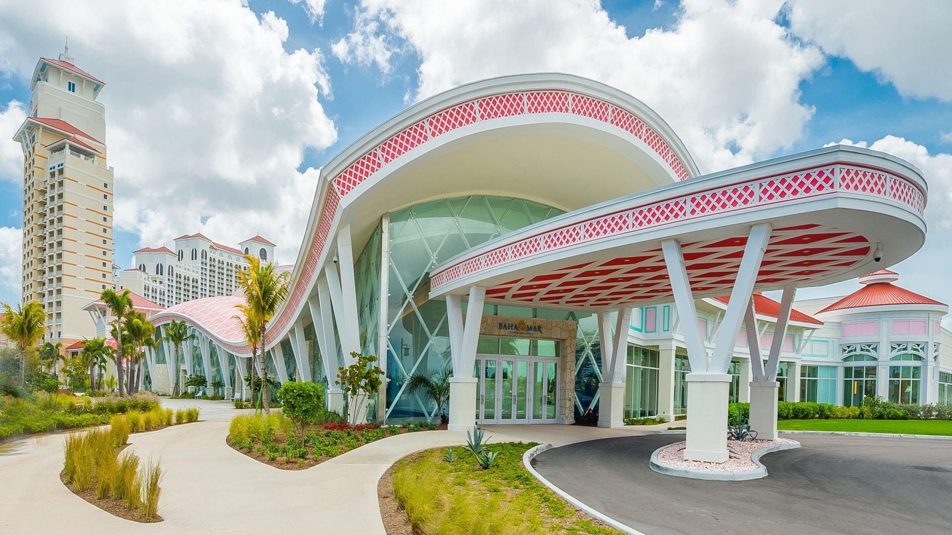 Convention Center Hotel Main Entrance