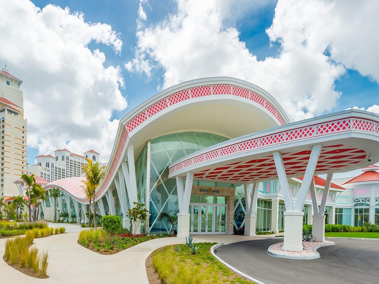 2.Convention Center Hotel Entrance Grand Hyatt Baha Mar