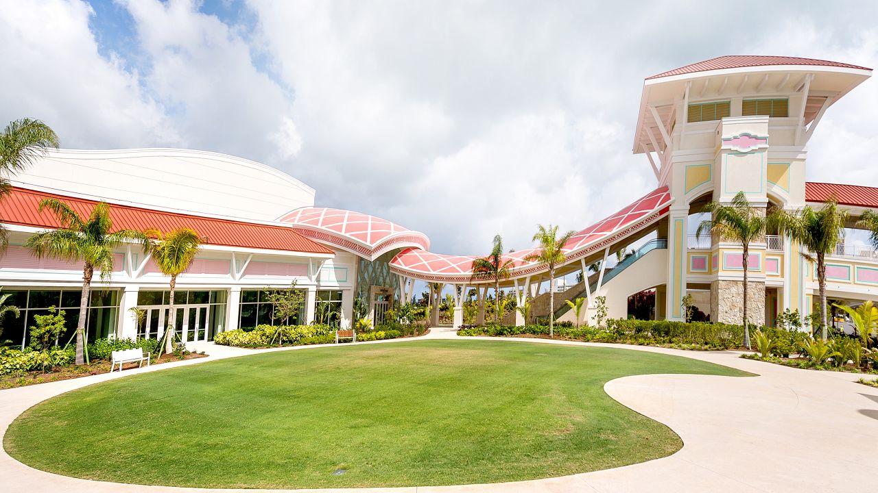 Convention Center Hotel Entrance