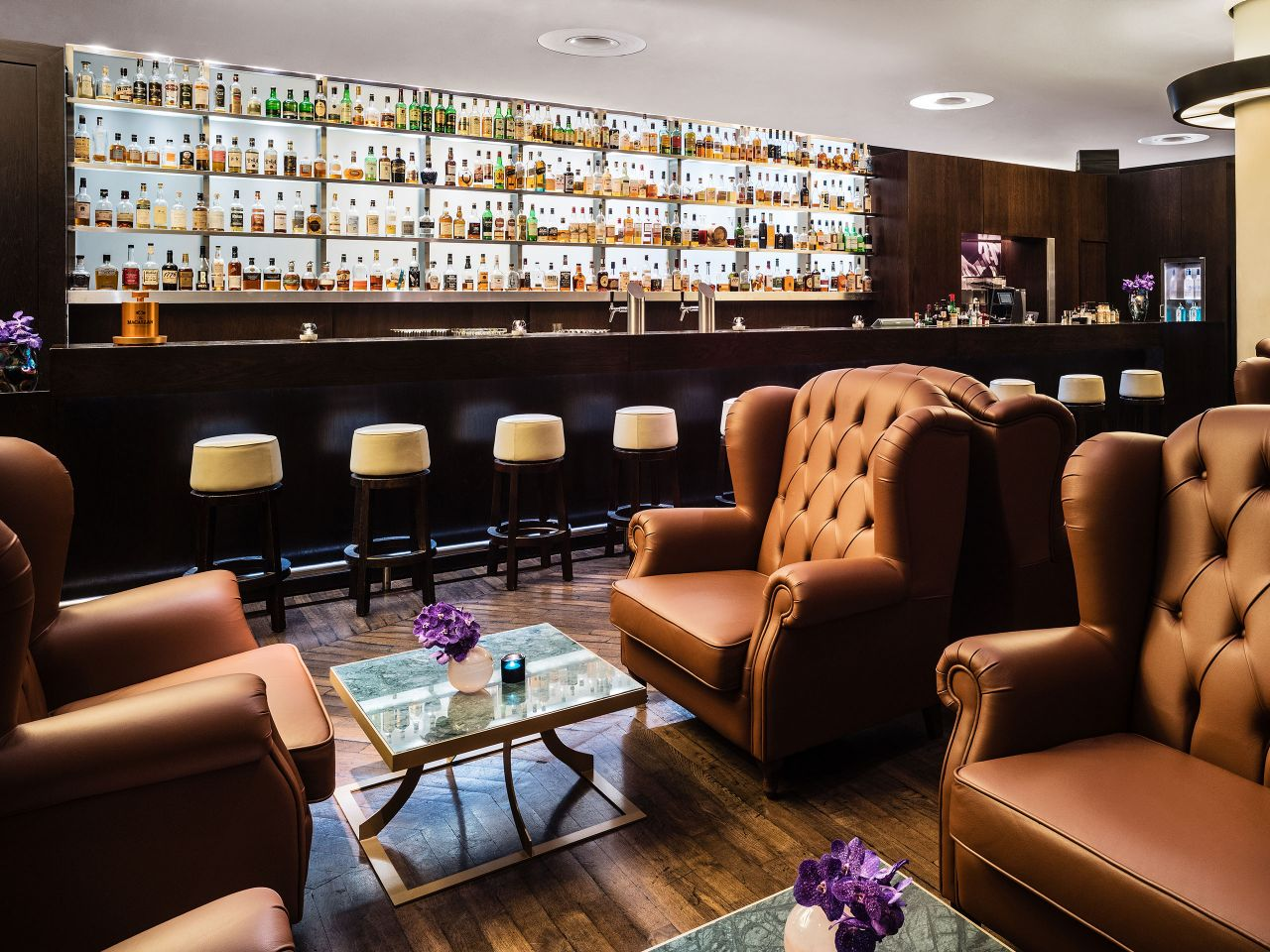 Vox bar at Grand Hyatt Berlin