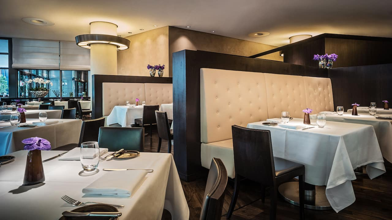 Vox Restaurant at Grand Hyatt Berlin