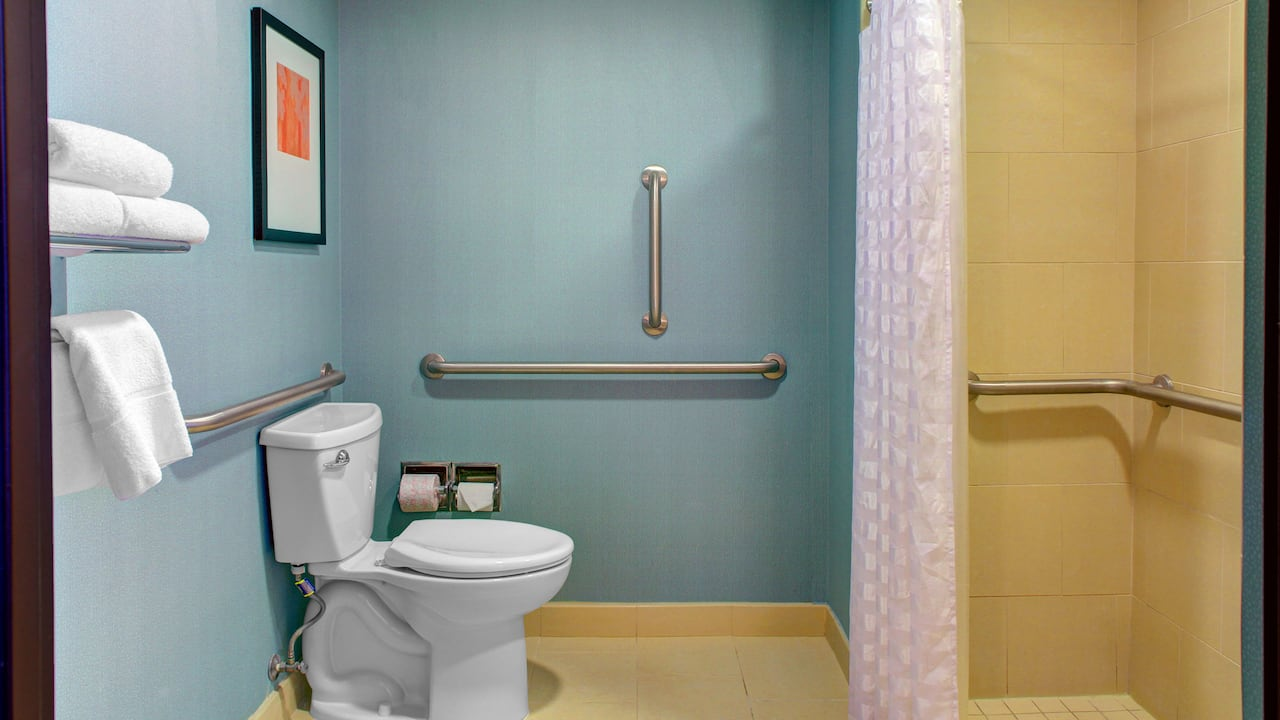 Hyatt Place Charlotte Airport/Lake Pointe Accessible King Bed/Roll-In Shower With Sofa Bed