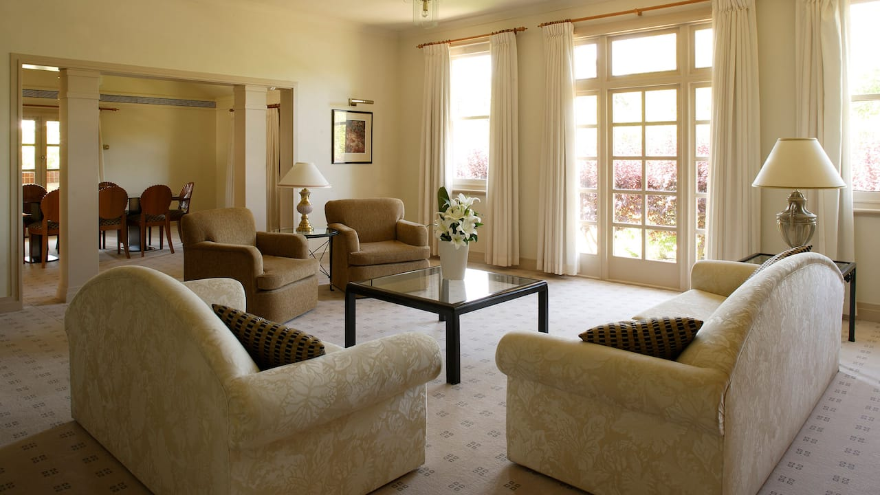 Diplomatic Suite living area