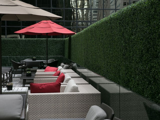 Grand Hyatt New York Patio