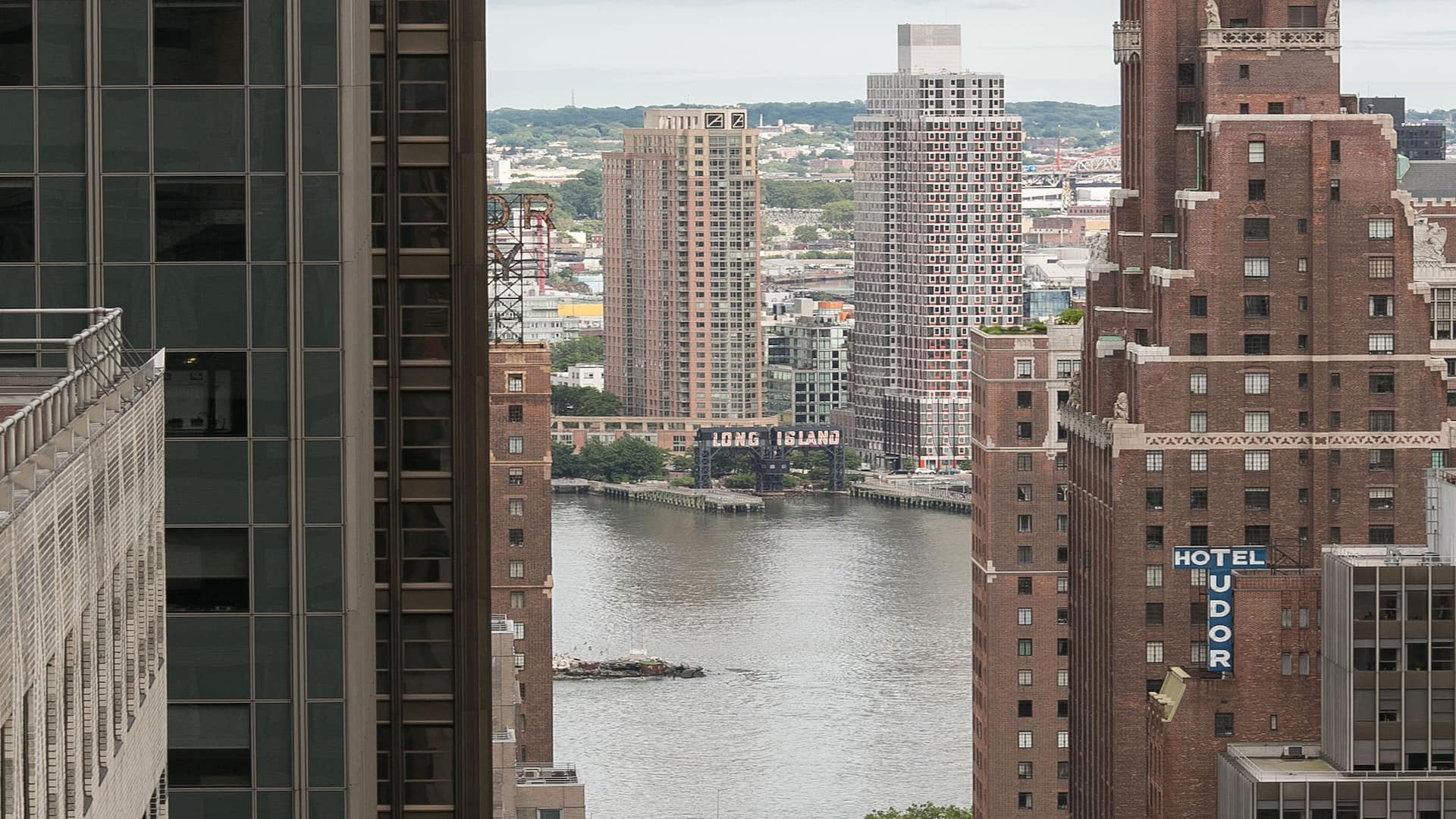 view east river